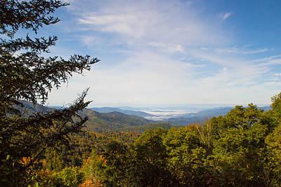 Smokey Mountain Drive Photograph - Blue Ridge Mountains - A by James Fowler
