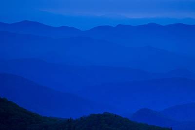 Blue Ridge Mountains Print by Andrew Soundarajan