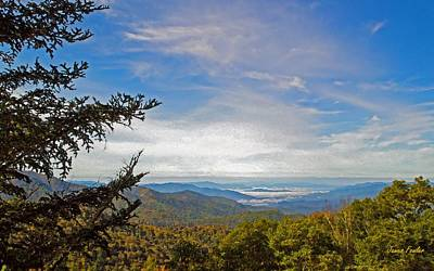 Smokey Mountain Drive Photograph - Blue Ridge Mountains - Ap by James Fowler