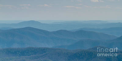 North Carolina Mountains Photograph - Blue Ridge Mountains Of North Carolina by Dustin K Ryan