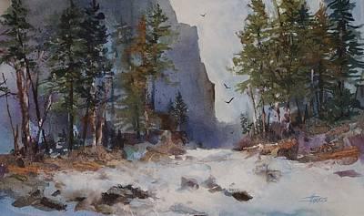Painting - Blue Ridge Pass by Helen Harris