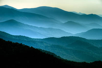 Asheville Artist Photograph - Blue Ridges by Joye Ardyn Durham