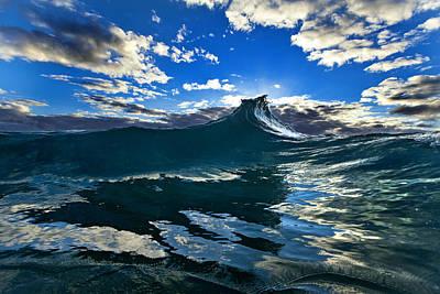 Surrealistic Photograph - Blue Rogue by Sean Davey