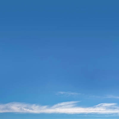 Blue Sky Print by Scott Norris