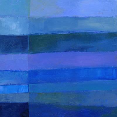 Blue Stripes 2 Original by Jane Davies