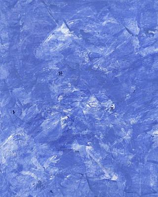Mixed Media - Blue Winter by Manuel Sueess