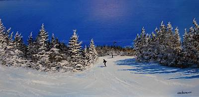 Painting - Bluebird Day by Ken Ahlering
