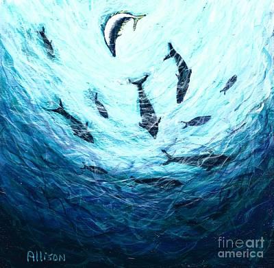 Bluefin Tuna Original by Allison Constantino