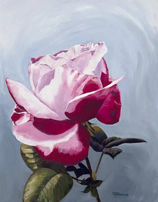 Blushing Original by Mary Giacomini