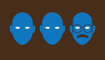 Bluth Man Group Print by Michael Myers