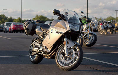 Bmw F800st Print by Peter Chilelli