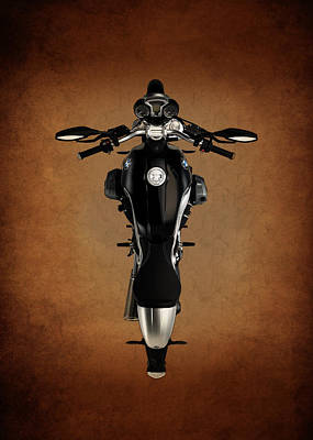 Bmw The Art Of The Motorcycle Print by Mark Rogan