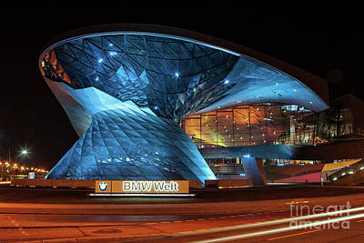 Factory Photograph - Bmw Welt by Stephen Smith