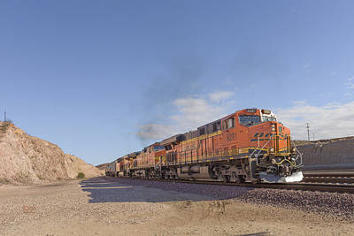 Locomotives Photograph - Bnsf6281 by Jim Thompson