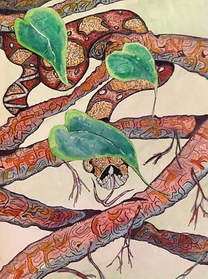 Boa Of The Leaves Original by Robert Hilger