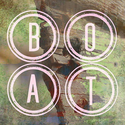 Beach Mixed Media - Boat by Brandi Fitzgerald