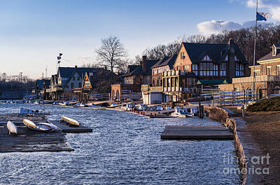 Boathouse Row Photograph - Boathouse Row Philadelphia by John Greim