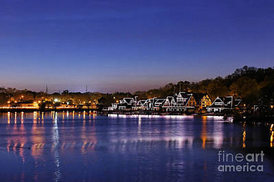 Boathouse Row Philly Print by John Greim