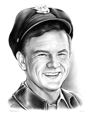 Crane Drawing - Bob Crane by Greg Joens