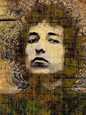 Bob Dylan 1 Vertical Original by Tony Rubino