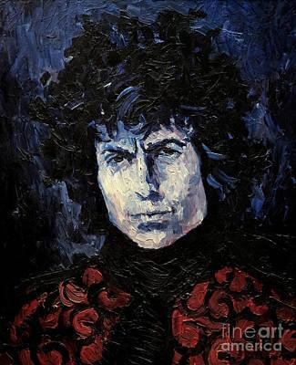 Bob Dylan 1967 Print by Lutz Baar