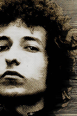 Bob Dylan 4 Vertical Original by Tony Rubino