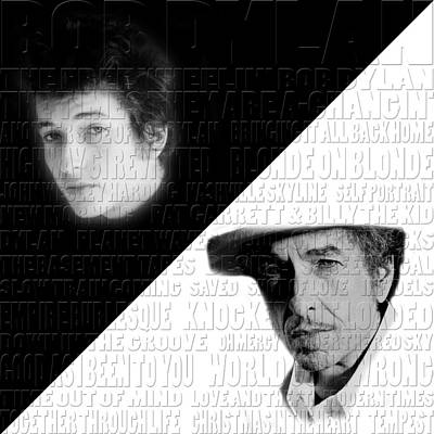 Bob Dylan Print by Andrew Fare