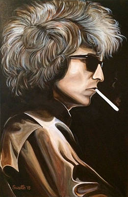 Bob Dylan Original by Suzette Castro