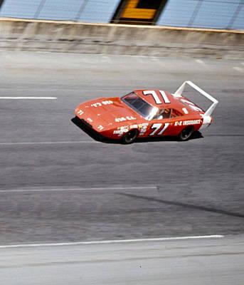 Daytona 500 Photograph - Bobby Isaac # 71 Dodge Daytona 1970 Daytona 500 by David Bryant