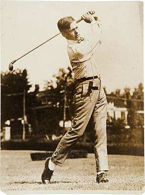 Augusta Golf Photograph - Bobby Jones by Georgia Fowler
