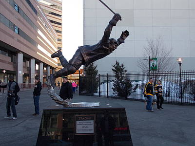 Bobby Orr Print by Catherine Gagne