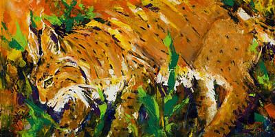 Bobcat Original by Mary DuCharme