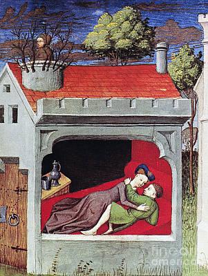 Boccaccio: Lovers, C1430 Print by Granger