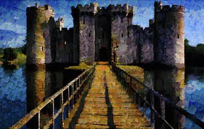 Photograph - Bodiam Castle by Mario Carini