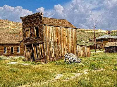 Prospecting Photograph - Bodie Ghost Town - Us 395 by Glenn McCarthy Art and Photography