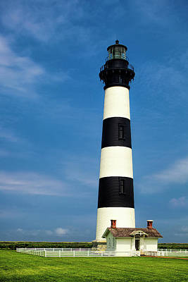 National Seashore Photograph - Bodie Island Lighthouse by Andrew Soundarajan