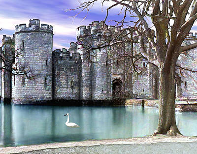 Castle Photograph - Bodium Castle England by Kurt Van Wagner