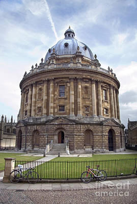 Famous Book Photograph - Bodlien Library Radcliffe Camera by Jane Rix