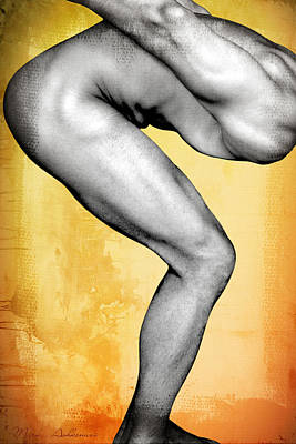 Nude Digital Art - Body Map  by Mark Ashkenazi