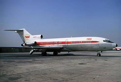 Boeing 727-031 Trans World Airlines Twa N856tw Print by Wernher Krutein