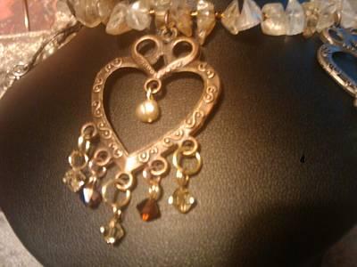 Jablonex Beads Photograph - Bohemian Love by Melanie A Leon
