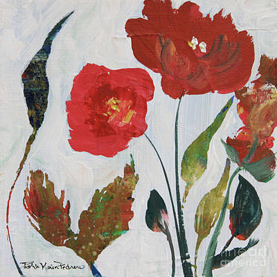 Painting - Bold Blooms by Robin Maria Pedrero
