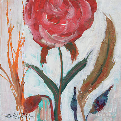 Painting - Bold Bright Beautiful Bloom by Robin Maria Pedrero
