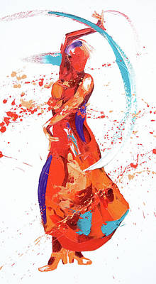 Bolero Print by Penny Warden