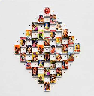 Swarovski Crystal Mixed Media - Bollywood On A Mathbox 2 by Sumit Mehndiratta
