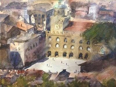 Watercolor Painting - Bologna by Arvind Guduri