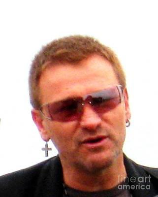 Jer Photograph - Bono 1 by Marta Robin Gaughen