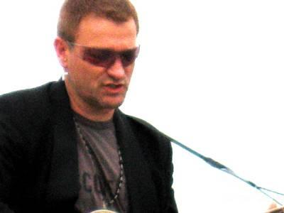 Jer Photograph - Bono 2 by Marta Robin Gaughen