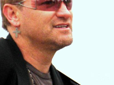 Jer Photograph - Bono 3 by Marta Robin Gaughen