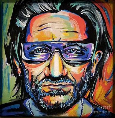 Bono Painting - Bono by Amy Belonio